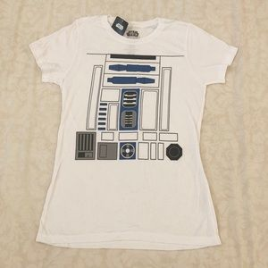 NWT STAR WARS DROID TEE SIZE LARGE